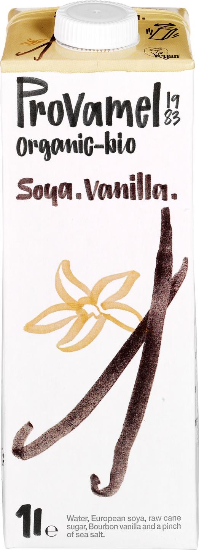 Biologische Provamel Sojadrink vanilla 1 L