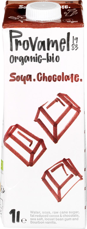 Biologische Provamel Sojadrink chocolade 1 L