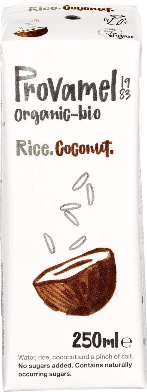 Biologische Provamel Rijstdrink kokos 250 ml