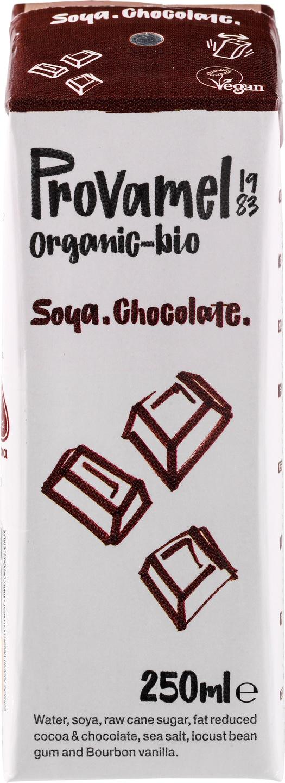 Biologische Provamel Sojadrink chocolade 250 ml