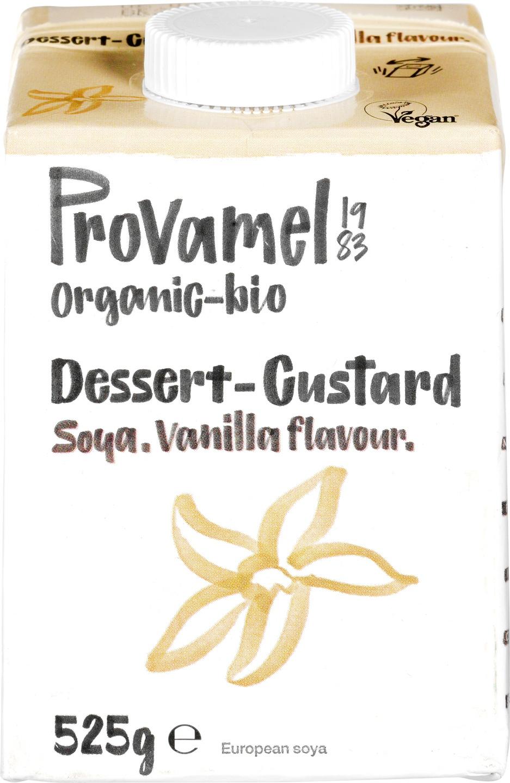 Biologische Provamel Soja dessert vanille 525 gr