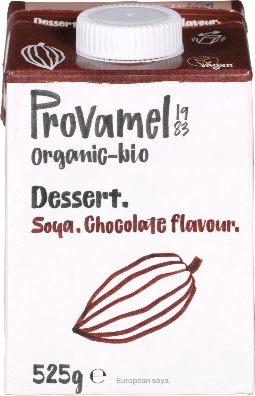Biologische Provamel Soja dessert chocolade 525 gr