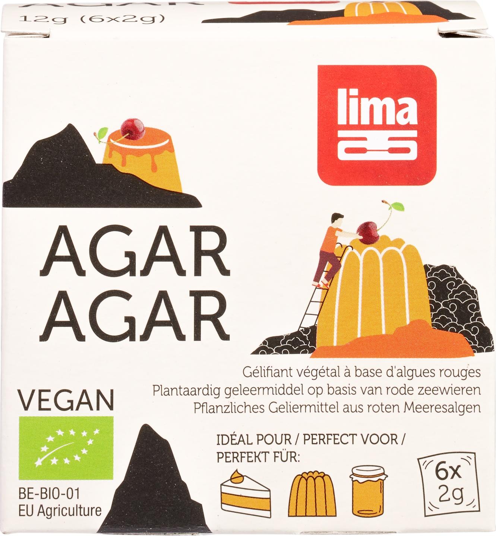 Biologische Lima Agar-agar poeder 12 gr