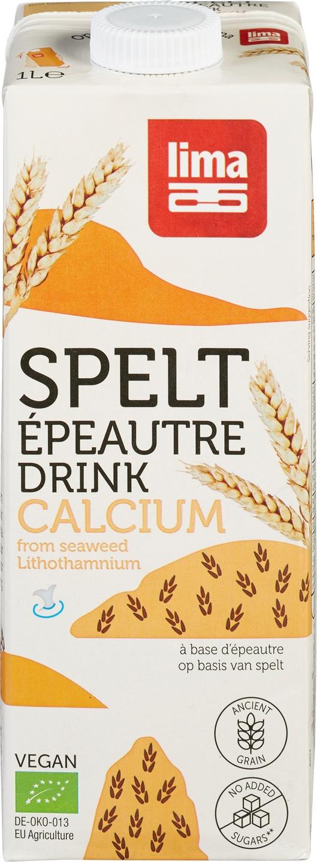 Biologische Lima Speltdrink calcium 1 L