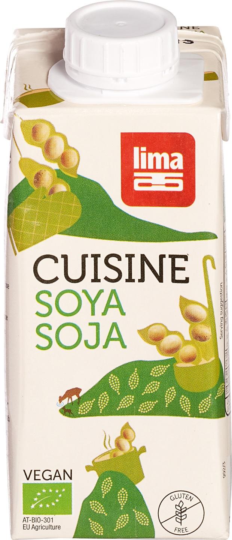 Biologische Lima Soja Cuisine 200 ml