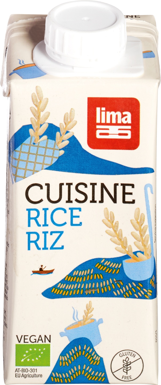 Biologische Lima Rijst cuisine 200 ml
