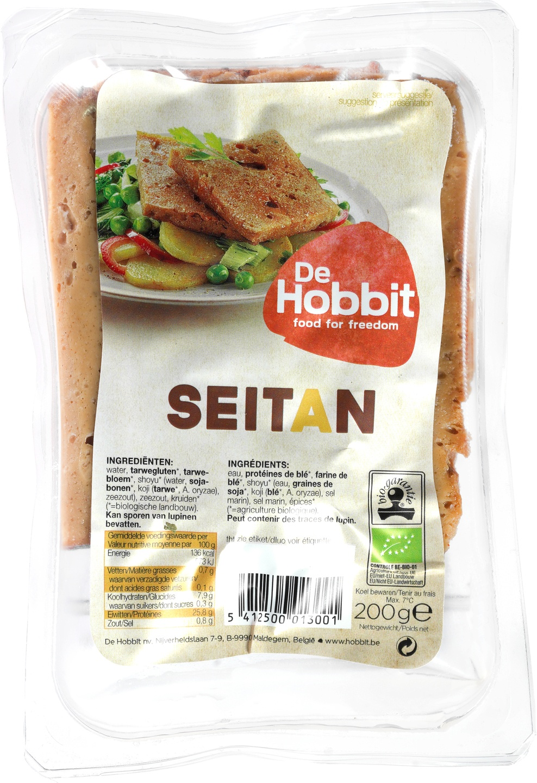 -15% SALE | Biologische De Hobbit Verse seitan 200 gr