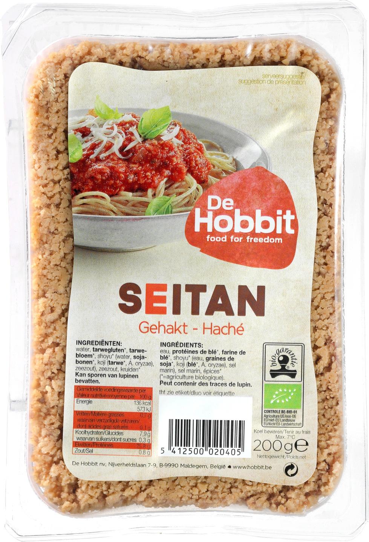 -15% SALE | Biologische De Hobbit Verse seitan gehakt 200 gr