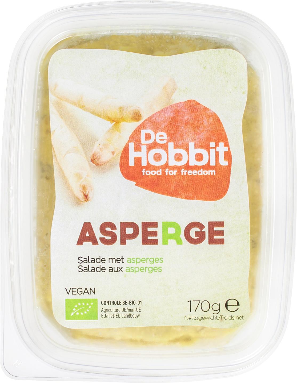 Biologische De Hobbit Aspergespread 170 gr