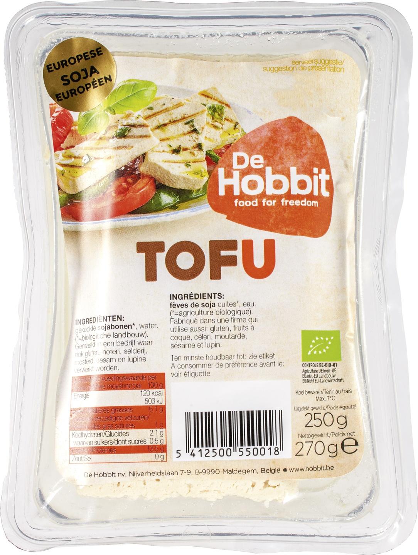 Biologische De Hobbit Tofu 270 gr
