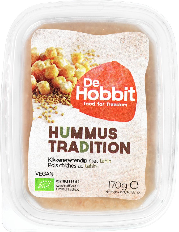 Biologische De Hobbit Hummus Tradition 170 gr