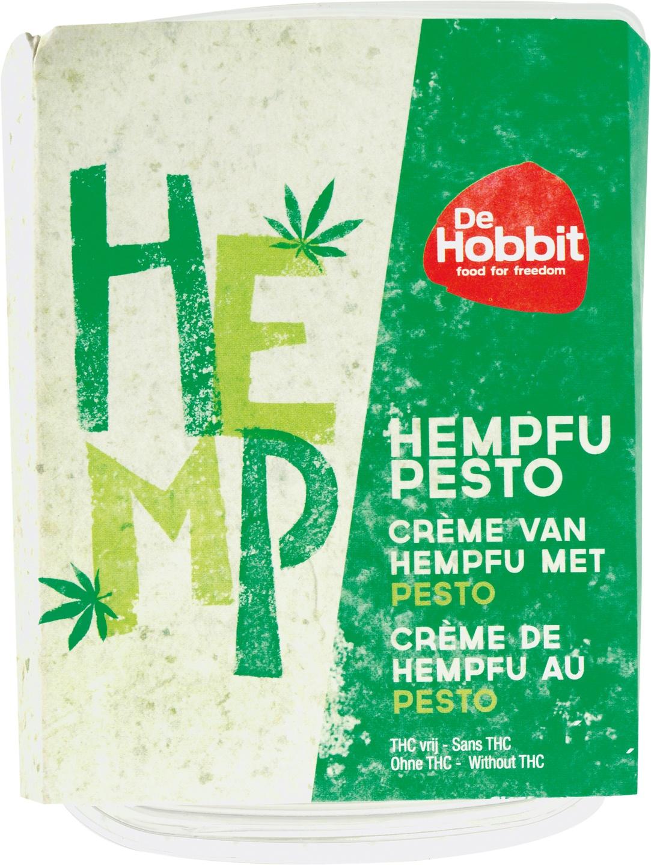 Biologische De Hobbit Hempfu pesto 170 gr