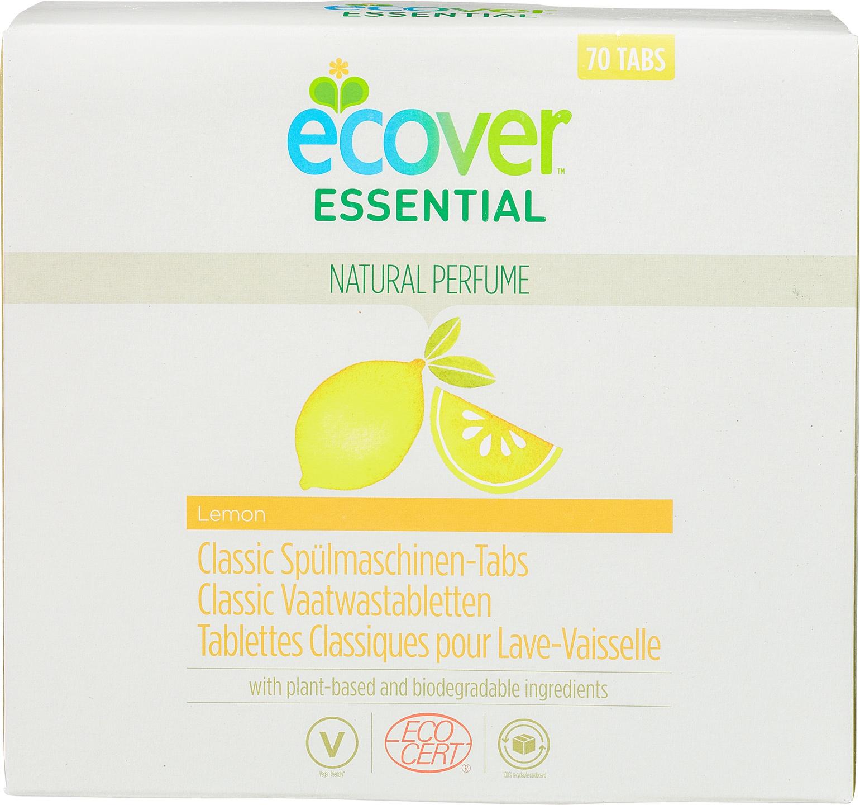 Biologische Ecover Essential Vaatwastabletten citroen 70 st