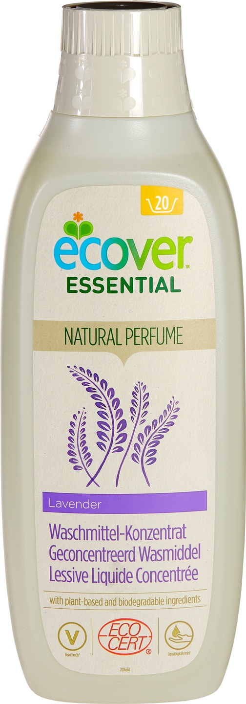 Biologische Ecover Essential Wasmiddel lavendel 1 L