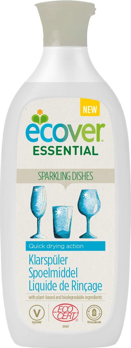 Biologische Ecover Essential Glansspoelmiddel 500 ml