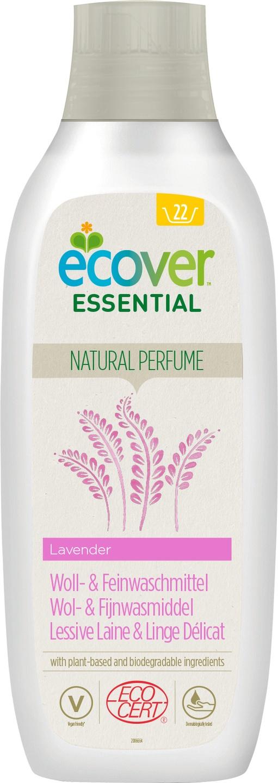 Biologische Ecover Essential Wasmiddel wol & fijnwas lavendel 1 L