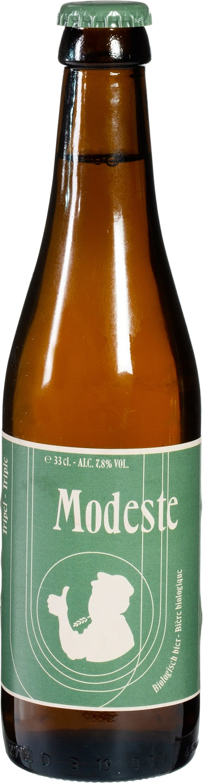 Biologische Modeste Modeste tripel 330 ml