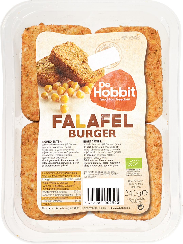Biologische De Hobbit Falafel burger 240 gr