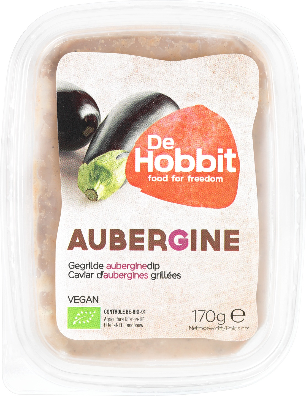 Biologische De Hobbit Auberginespread 170 gr
