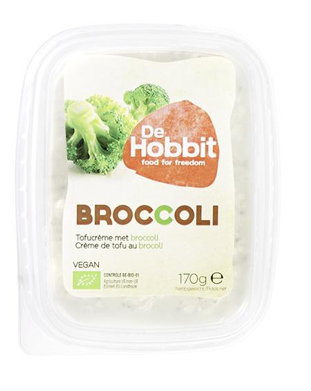 Biologische De Hobbit Broccolispread 170 gr