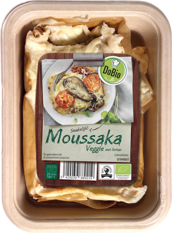 Biologische DoBio Griekse moussaka vegetarisch 400 g