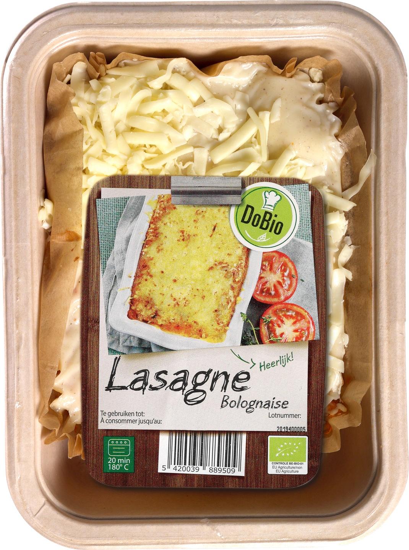 Biologische DoBio Lasagne Bolognaise 400 gr