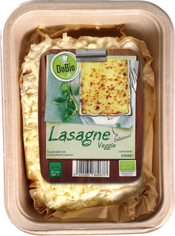 Biologische DoBio Lasagne veggie 400 gr