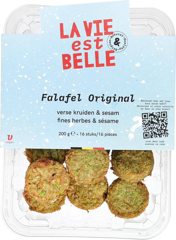 Biologische La vie est belle Falafel Original 200 gr