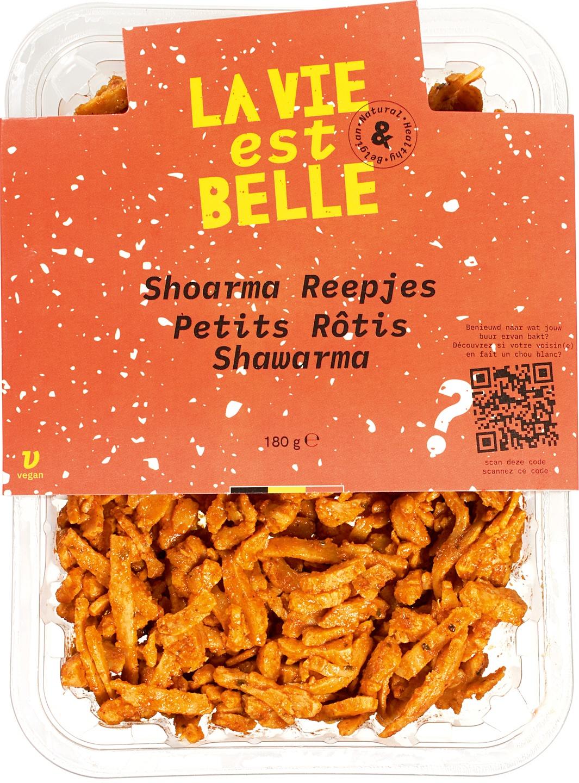 Biologische La vie est belle Bakreepjes Shoarma 180 gr