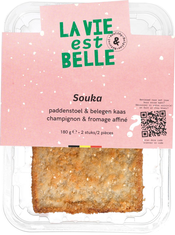 Biologische La vie est belle Souka burger 180 gr