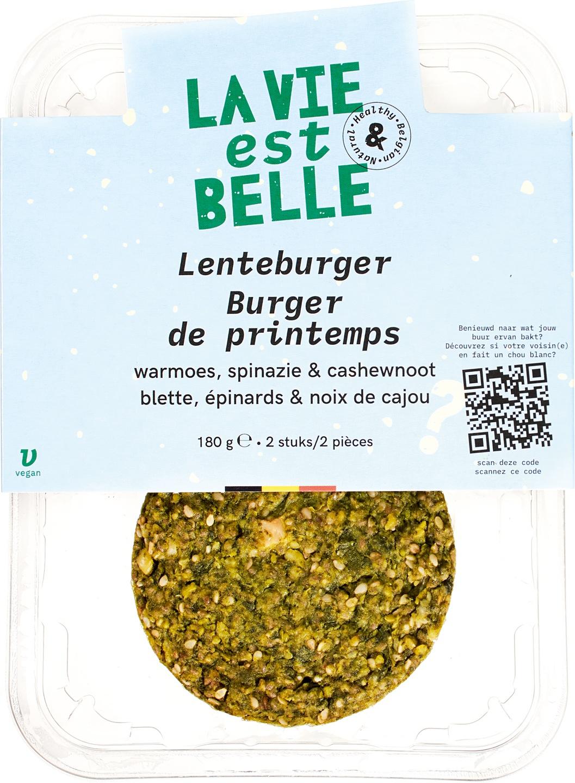 Biologische La vie est belle Lenteburger 180 gr