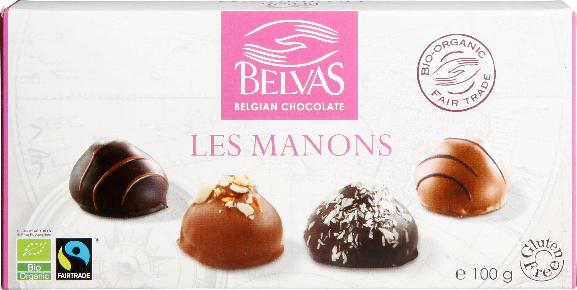 Biologische Belvas Bonbons Les Manons 100 gr