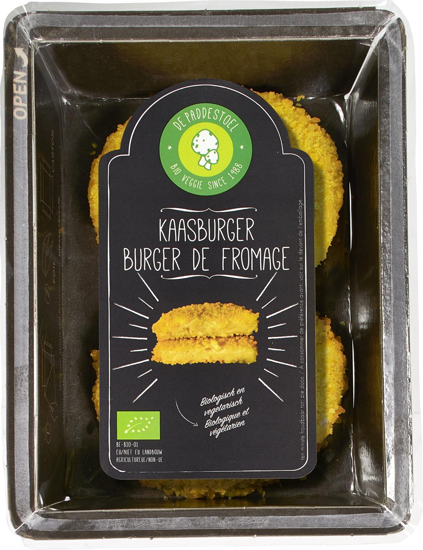 Biologische De Paddestoel Kaasburger 170 gr