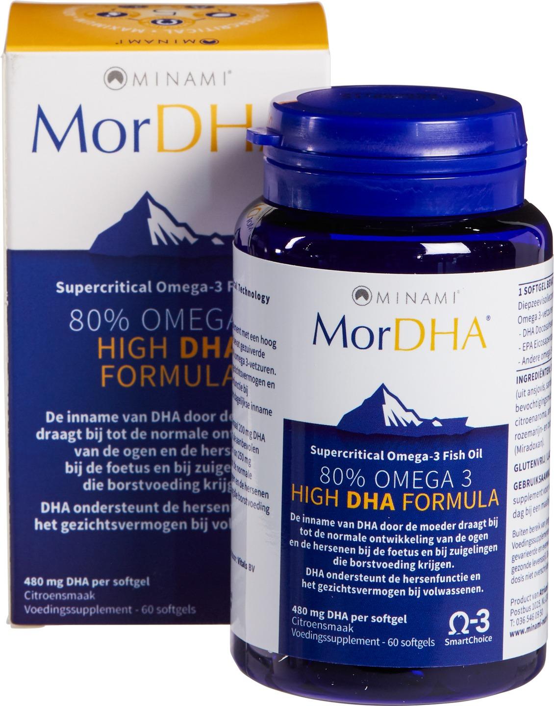 Biologische Minami Omega-3 80% - DHA 60 st