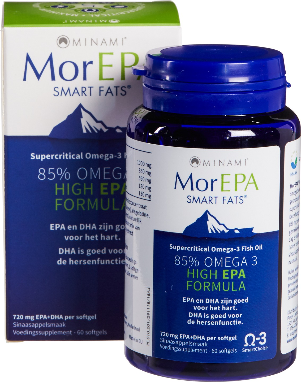 Biologische Minami Omega 3 85% - EPA 60 st