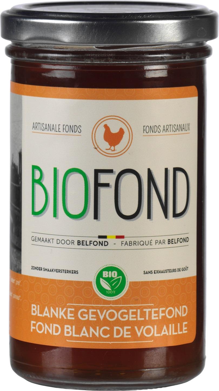 Biologische Biofond Blanke gevogeltefond 240 ml