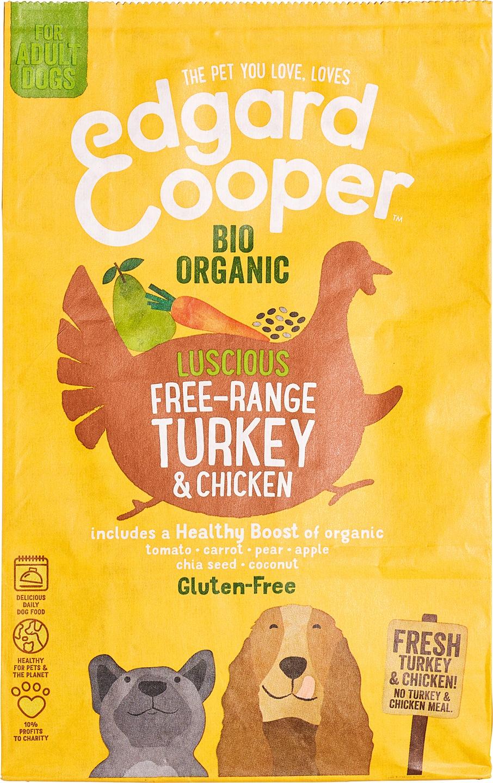 Biologische Edgard&cooper Brokken kalkoen/kip 700 gr