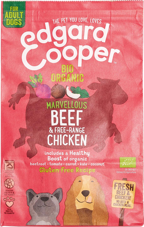 Biologische Edgard&cooper Brokken rund/kip 700 gr