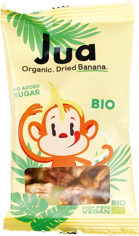 Biologische Jua Gedroogde bananen 25 gr