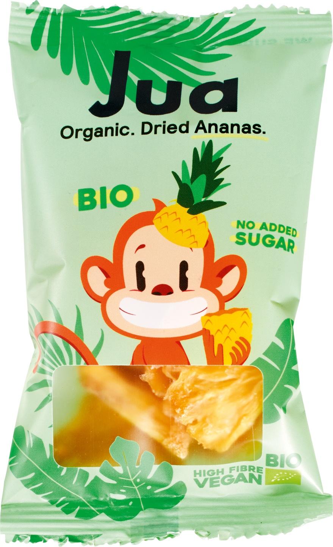 Biologische Jua Gedroogde ananas 25 gr