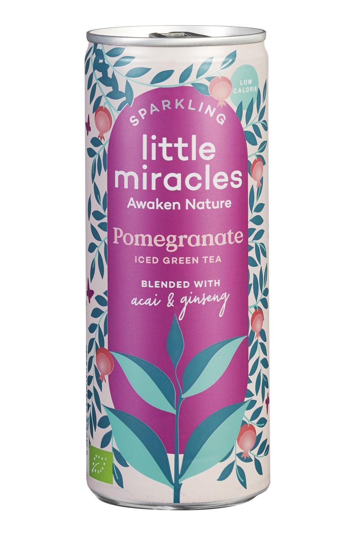 Biologische Little Miracles Sparkling Pomegranade 250 ml