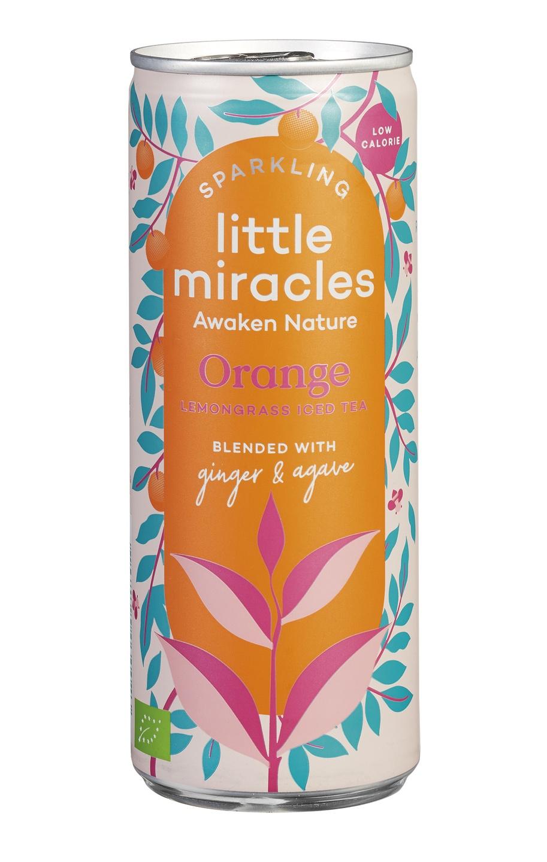 Biologische Little Miracles Sparkling Orange 250 ml