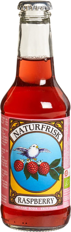 Biologische Naturfrisk Lemonade framboos 250 ml