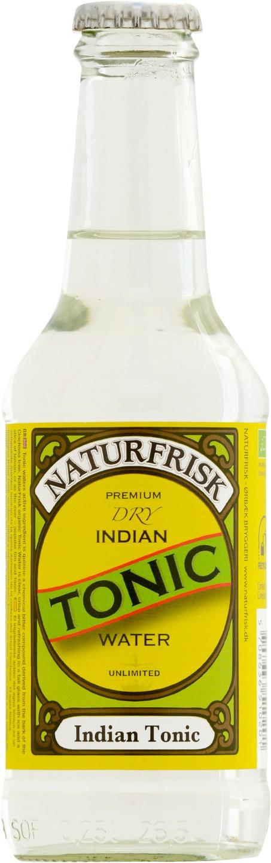 Biologische Naturfrisk Indian tonic 250 ml
