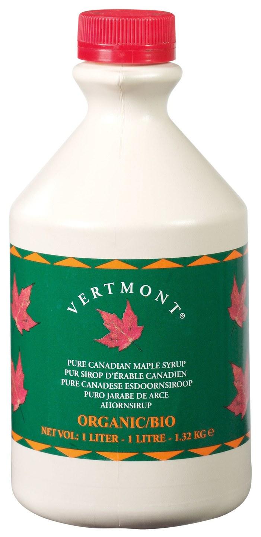 Biologische Vertmont Ahornsiroop graad A 1 L