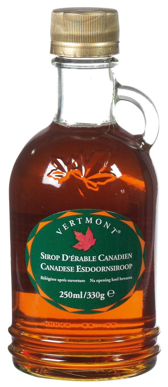 Biologische Vertmont Ahornsiroop graad A 250 ml