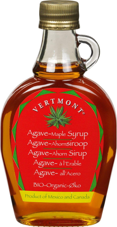 Biologische Vertmont Agave ahornsiroop 235 ml