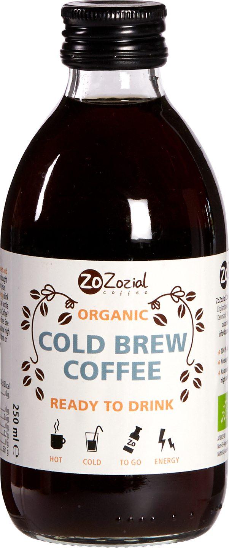 Biologische Zozozial coffee Cold Brew koffie 250 ml