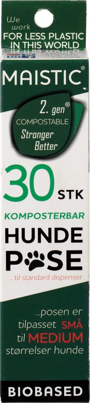 Biologische Maistic Hondenpoepzakjes S-M comp. 2 x 15 (30st) 30 st