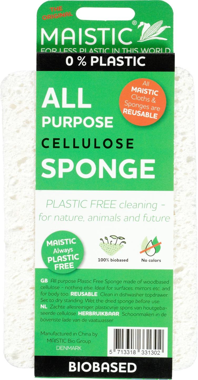 Biologische Maistic Allesreiniger spons 1 st